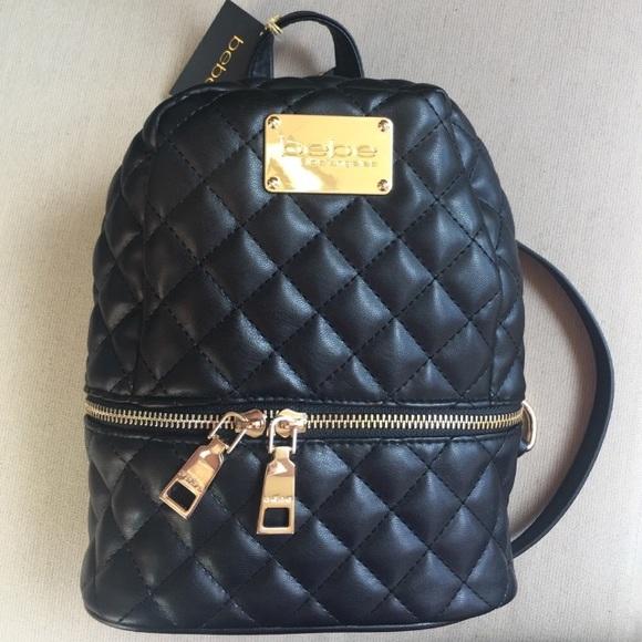 44f86d4fc5e6 ⏬Price Drop⏬ Bebe Danielle Mini Backpack
